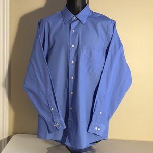 Arrow Poplin Men's Dress Shirt Size 15 1/2 Medium